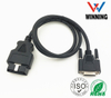 OBDII 16P J1962 Male TO D-SUB 26P Female. Vehical Inspection Cable