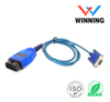 OBDII 16P J1962 M TO D-USB 9P F CABLE
