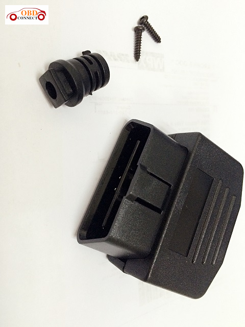 OBD II MALE 16P 180 degrees fabricated