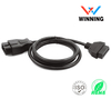 OBDII 16P J1962 Male to OBDII 16P J1962 Female Vehical Extension Cable